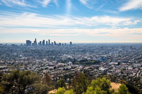 Cityscape of Greater Los Angeles